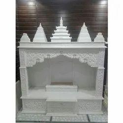White Hindu Marble Temple