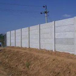 RCC Folding Concrete Precast Compound Wall