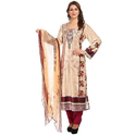 Ladies Designer Printed Suit