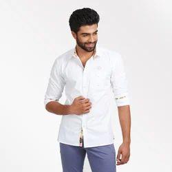 White Button Formal Shirt