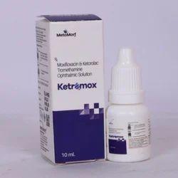 Moxifloxacin,Ketorolac Tromethamine