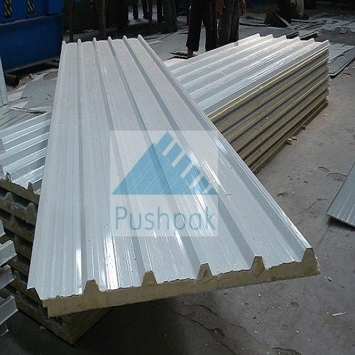 Steel Stainless Steel Sandwich Puf Panel Id 14821049212
