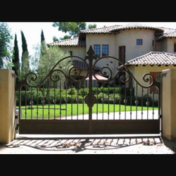 Iron Main Gate Door