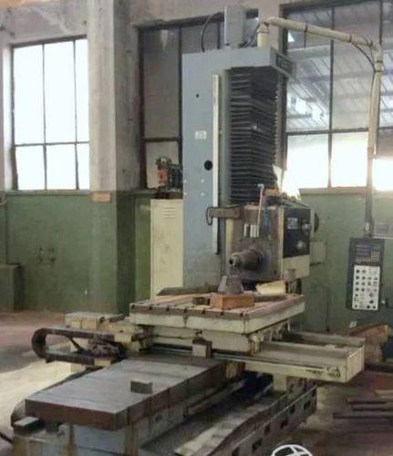Horizontal Boring Machine - WMW Boring Machine Importer from New Delhi