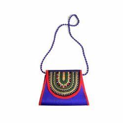 Embroidered Embroidery Handicraft Handbag