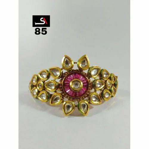 b8730c341e767 Kundan Designer Bangles