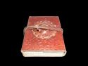 Embossed Leather Stone Binding Journal