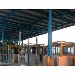 Mild Steel Toll Booth