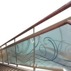 Stainless Steel Designer Glass Handrail Railing Rs 2000 Feet Id