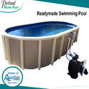 Readymade Swimming Pool For Hotels, Height: 3-4.3 Feet