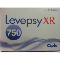 Levepsy XR 750, Packaging Type: Box, for Clinical