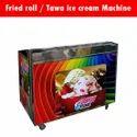 Single Pan Ice Cream Machine