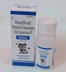 Amoxicillin Trihydrate Ip 200mg,Clavulanic Acid 28.5 Mg