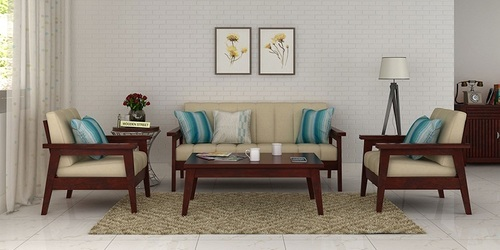 Swell Wooden Simple Sofa Set Beatyapartments Chair Design Images Beatyapartmentscom