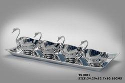 TS1001-Tray Set (Tray With 4 Bowls)