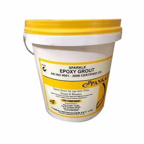 Pankaj Sparkle Epoxy Grout Spr Packaging Type Bucket