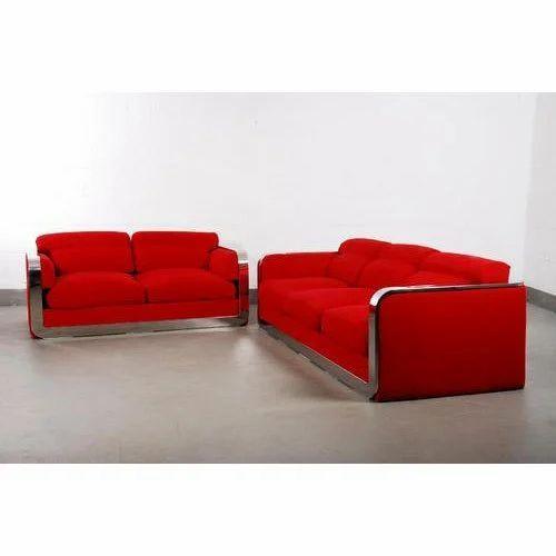 Red Sofa Set