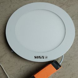 Sonix Cool Daylight 12W Round Panel Light, IP Rating: IP55, 12 W