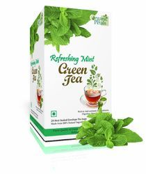 Refreshing Mint Green Tea