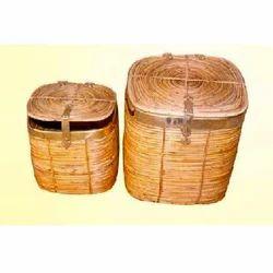 Square Laundry Wicker Basket