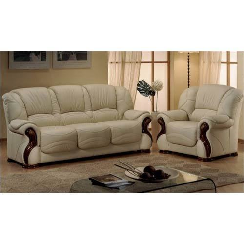 Designer Leather Sofa Set