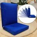 Adjustable Back Support Relax Recliner Floor Chair Sofa with Cushion
