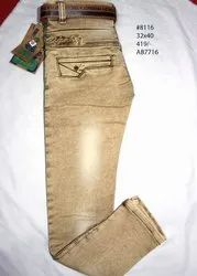 Cotton Kniting Kids Jeans