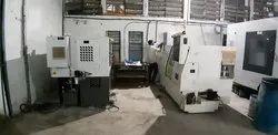 CNC Turning Machine components