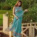 Designer Party Wear Silk Saree