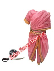 Kids Laxmi Bai Costume