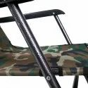 Folding Indoor Outdoor Home Beach Garden Recliner Deck Chair - Camouflage
