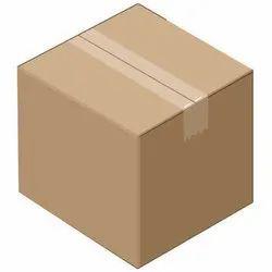 Cardboard Brown Corrugated Carton Box, Box Capacity: 21-30 Kg