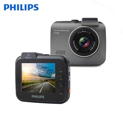 Philips Car Dash Cam GPS G-Sensor DVR Camera Full HD Video Recorder With 1080P Wide Angle Real Cycli