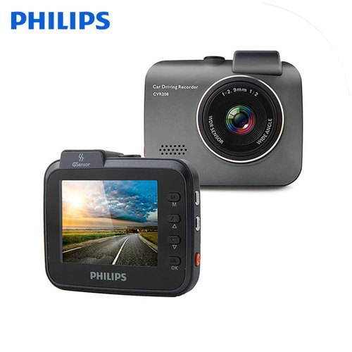 Philips Car Dash Cam Gps G Sensor Dvr Camera Full Hd Video Recorder