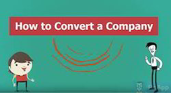 Convert One Form Of Company To Another Service