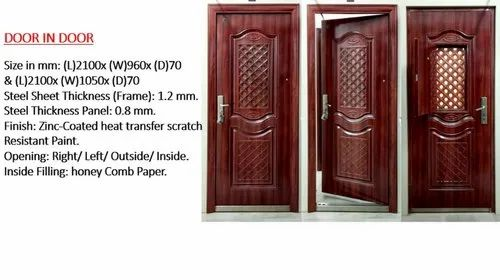 Yes Wood Fire Proof Doors, Rs 25000 /piece, Aldrich Integrated ... Fire Rated External Door Frame on
