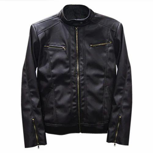 9c8c8b3af Mens Trendy Pu Leather Jacket