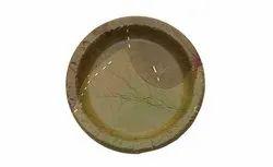 6 Inch Round Sal Leaf Plate