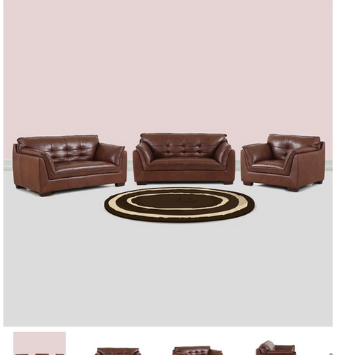 Stupendous Barclay Leather Sofa Set 3 Plus 2 Plus 1 Seater Pdpeps Interior Chair Design Pdpepsorg