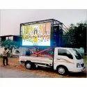 Pixel Advertising Led Screen Display Mobile Van For Outdoor