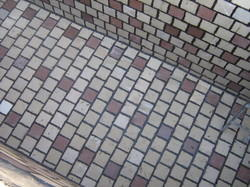 Two Color Floor Tiles