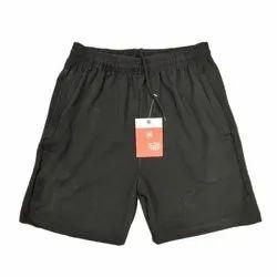 Sports Wear 3/4th Length M-XXL Dobby Lycra Shorts