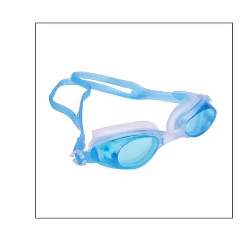Arrowmax Sky Blue Anti Fog Swimming Goggle