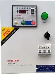Three Phase 5.0 / 7.5 HP DOL type Motor Starter Control Panel