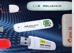 Vodafone Data Card Recharged Services