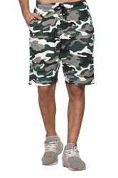 Shorts Cotton Camouflage Men casual Wear
