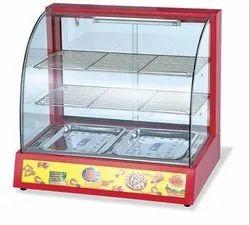 Modern Display Hot case Food Warmer