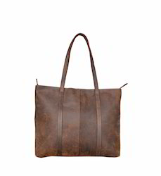Pure Leather Women Tote Bag