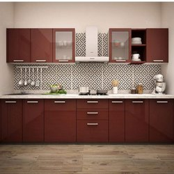 Modular Straight Kitchen