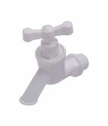 Mirror Finishing Plastic Aqua Dream Regular Bib Tap Short Body, For Bathroom Fitting
